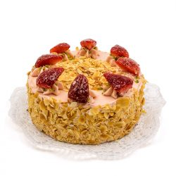 Bäckerei Eder Erdbeercremetorte Vegan